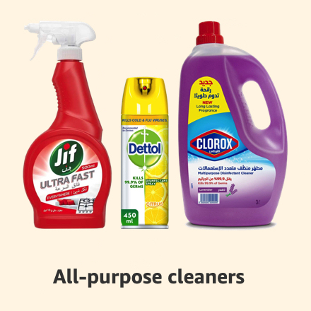 All-purpose cleaners
