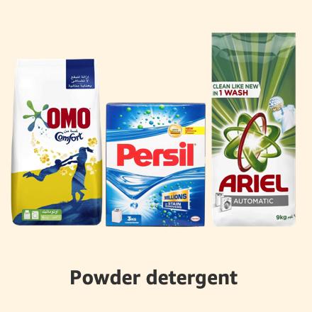 Powder detergent