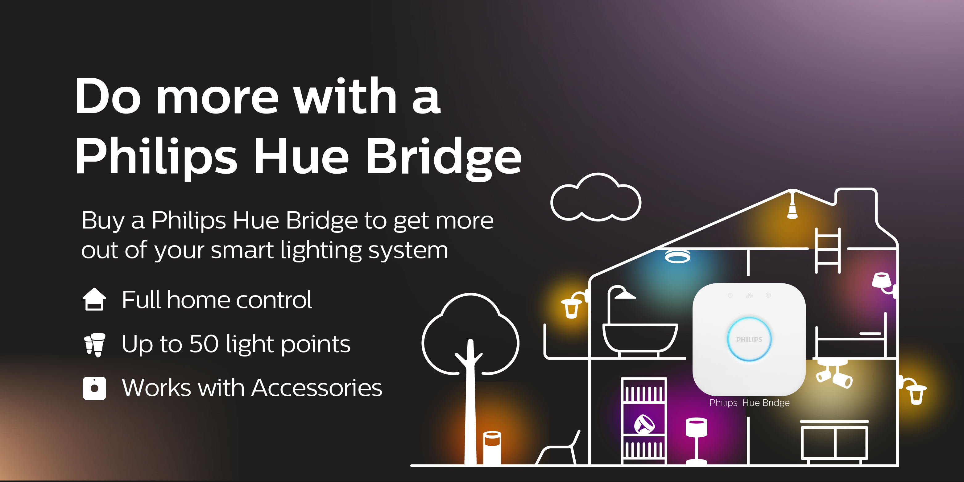 Do more with a Philips Hue bridge