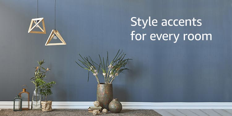Style accents for every room