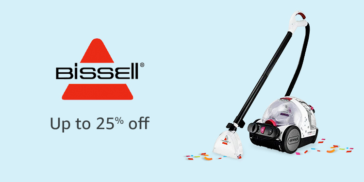Up to 25% off Bissell