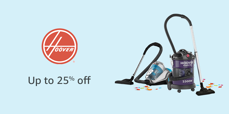 Up to 25% off Hoover