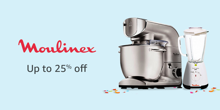 Up to 25% off Moulinex