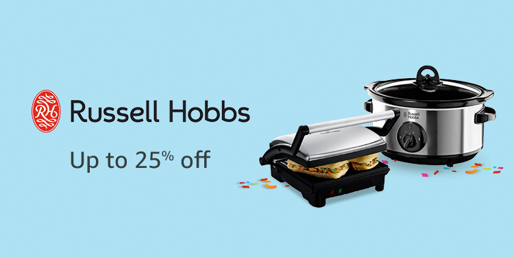 Up to 20% off Russell Hobbs