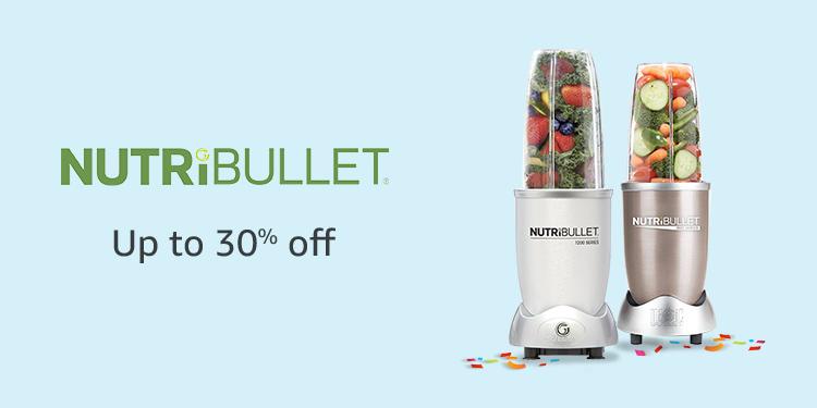 Up to 30% off Nutribullet