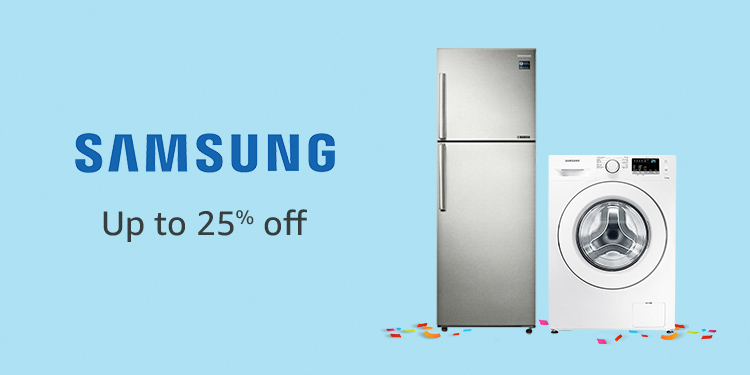 Up to 25% off Samsung