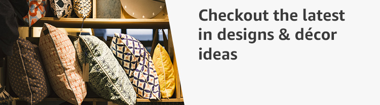 Checkout the latest in designs & décor ideas