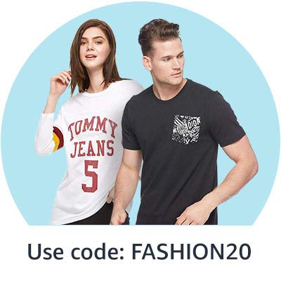 Use code:  FASHION20'