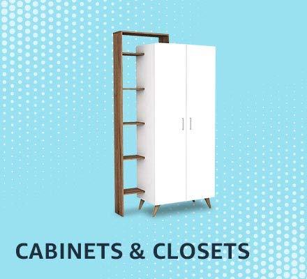 Cabinets & organizers