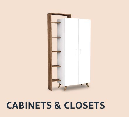 Cabinets & organizers