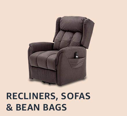 Recliners, single sofas & bean bags