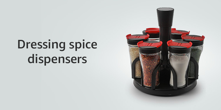 Dressing Spice Dispensers