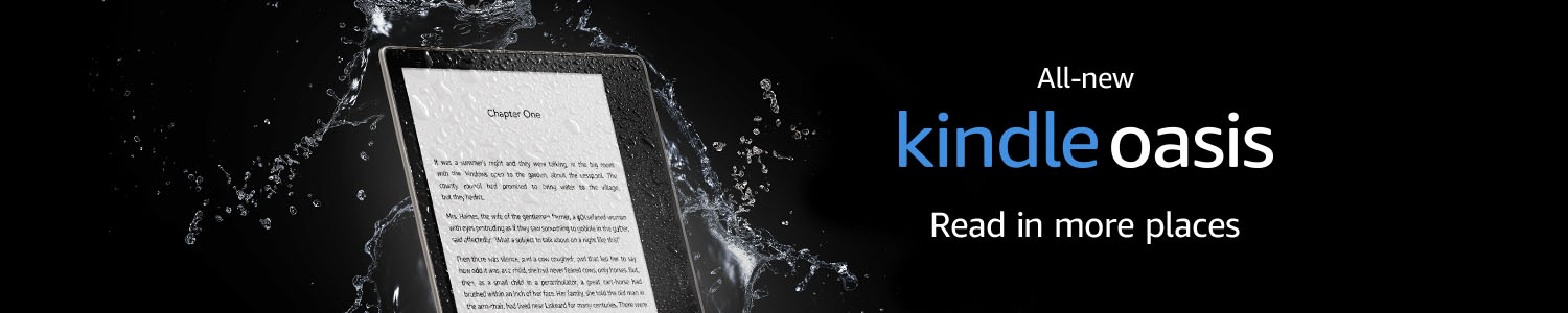 All-new Kindle Oasis - now with warm adaptive light
