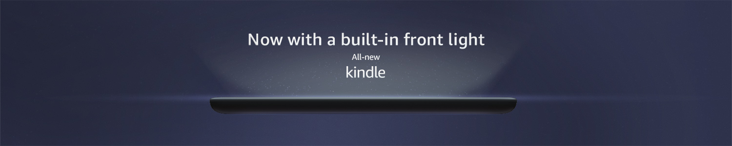 All-new Kindle - now with built-in front light