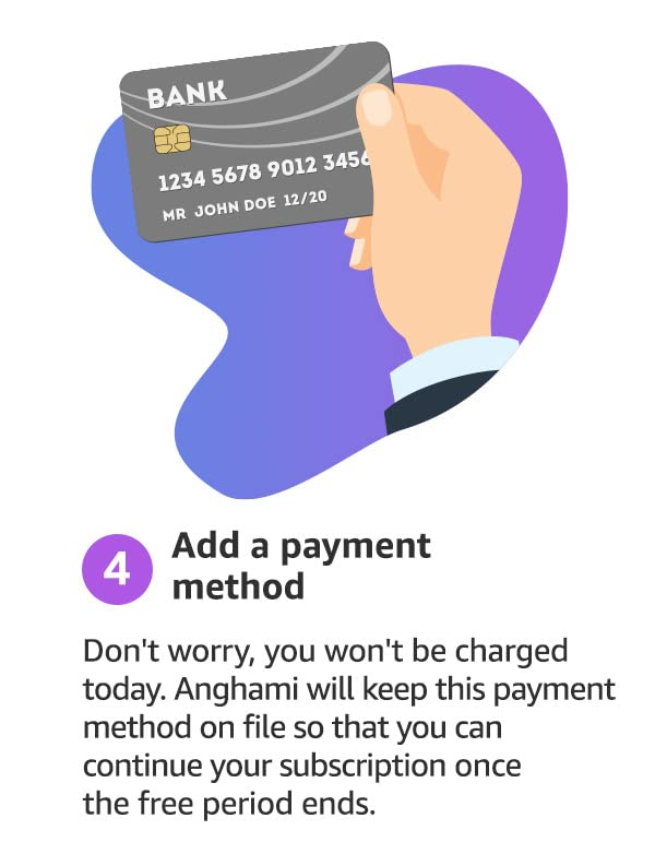 step 4: Add a payment method