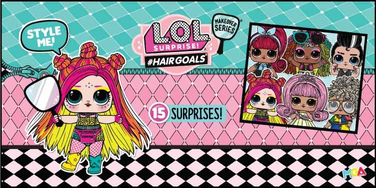 LOL Hair goals