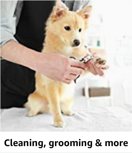 Cleaning,  grooming & more
