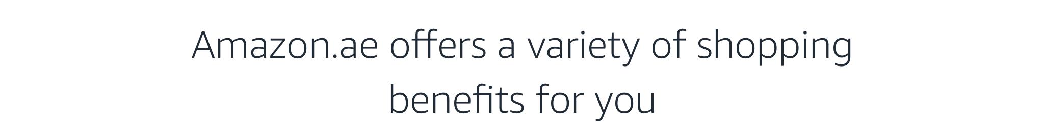 Shopping Benefits