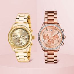 Stainless steel women's watches