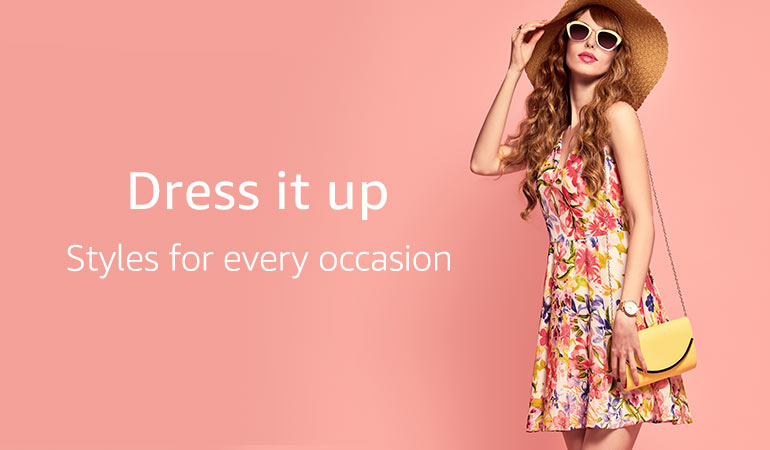 Buy Women Dresses online at Best Prices in UAE   Amazon ae