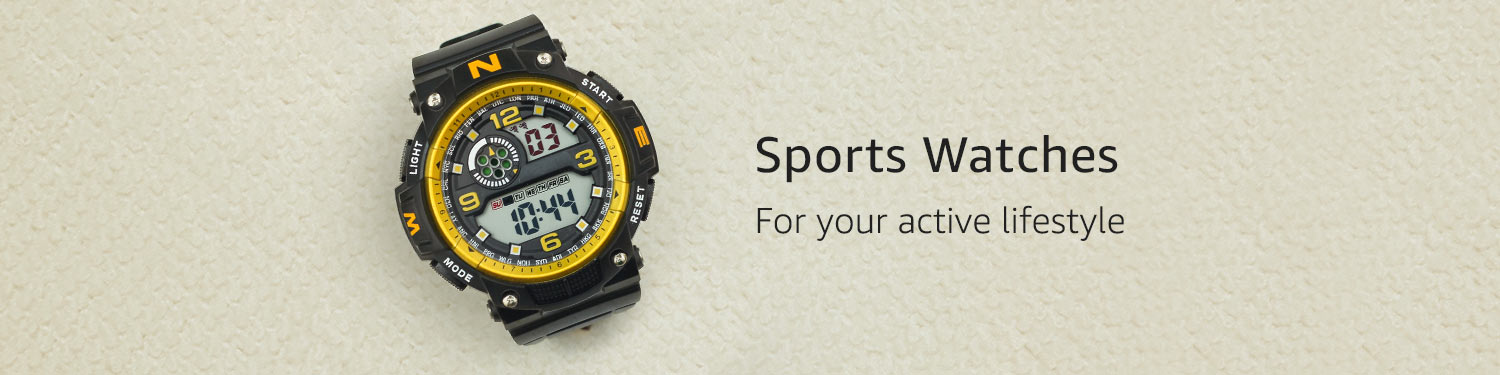 Sports Watches | Keep track of time