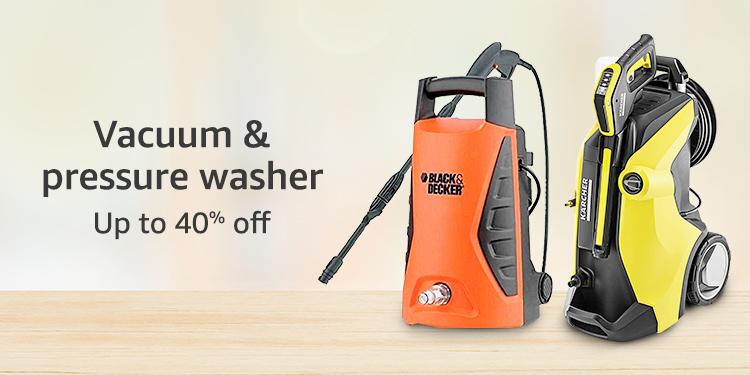 Vacuum & pressure washer