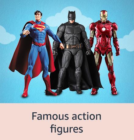 Famous action figures
