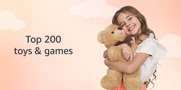 Top 200 Toys & games