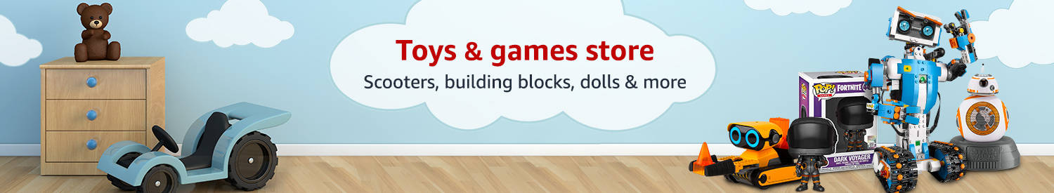Toys & games store