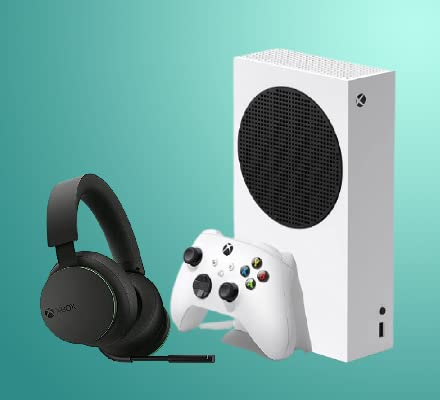 Xbox Series S with Wireless Headset