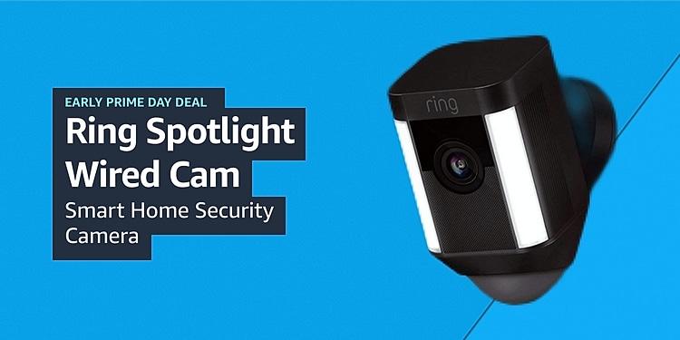 Ring Spotlight Wired Cam