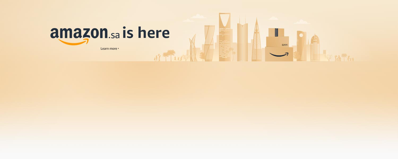 Amazon is here