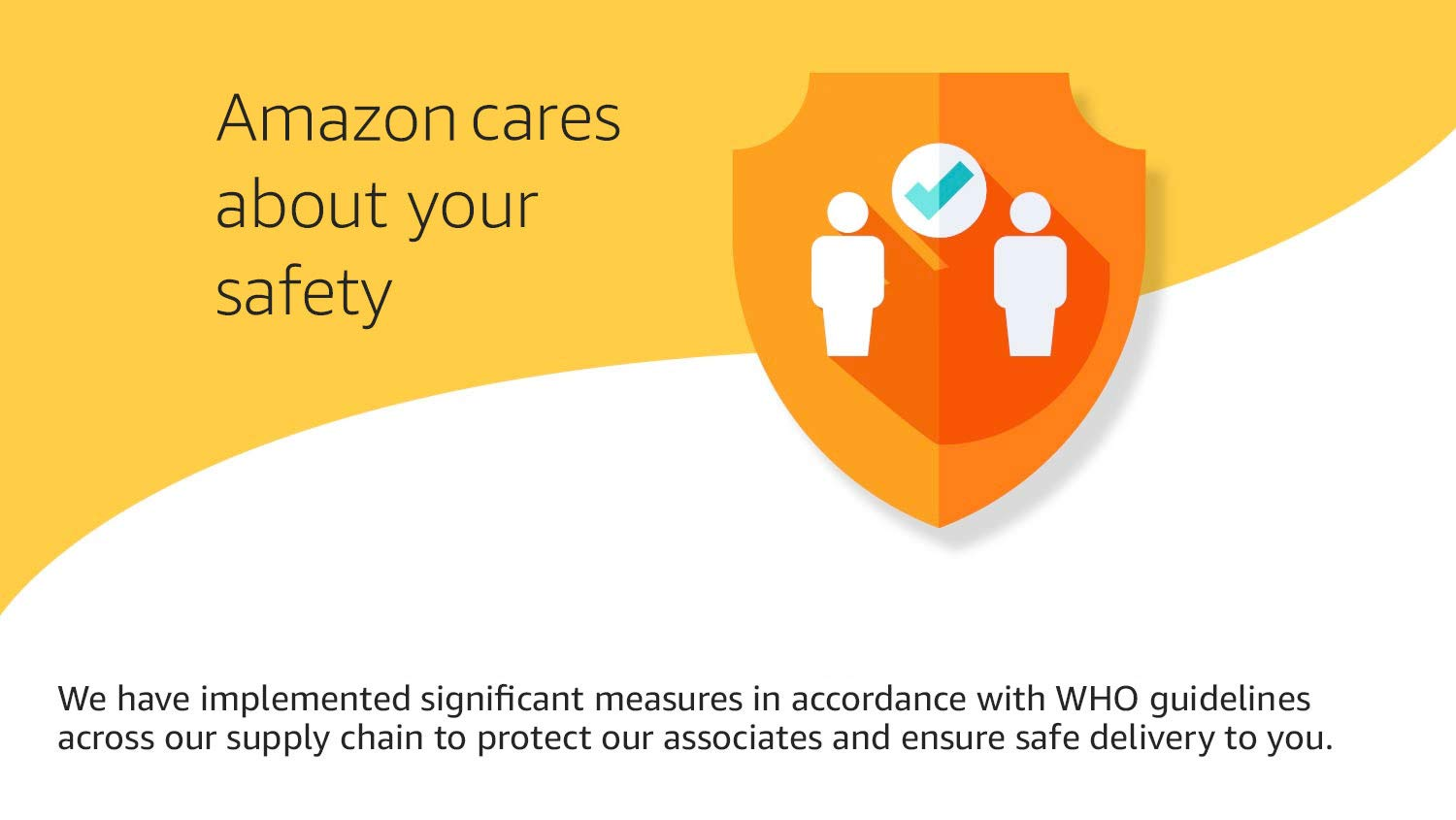 Amazon cares about your safety