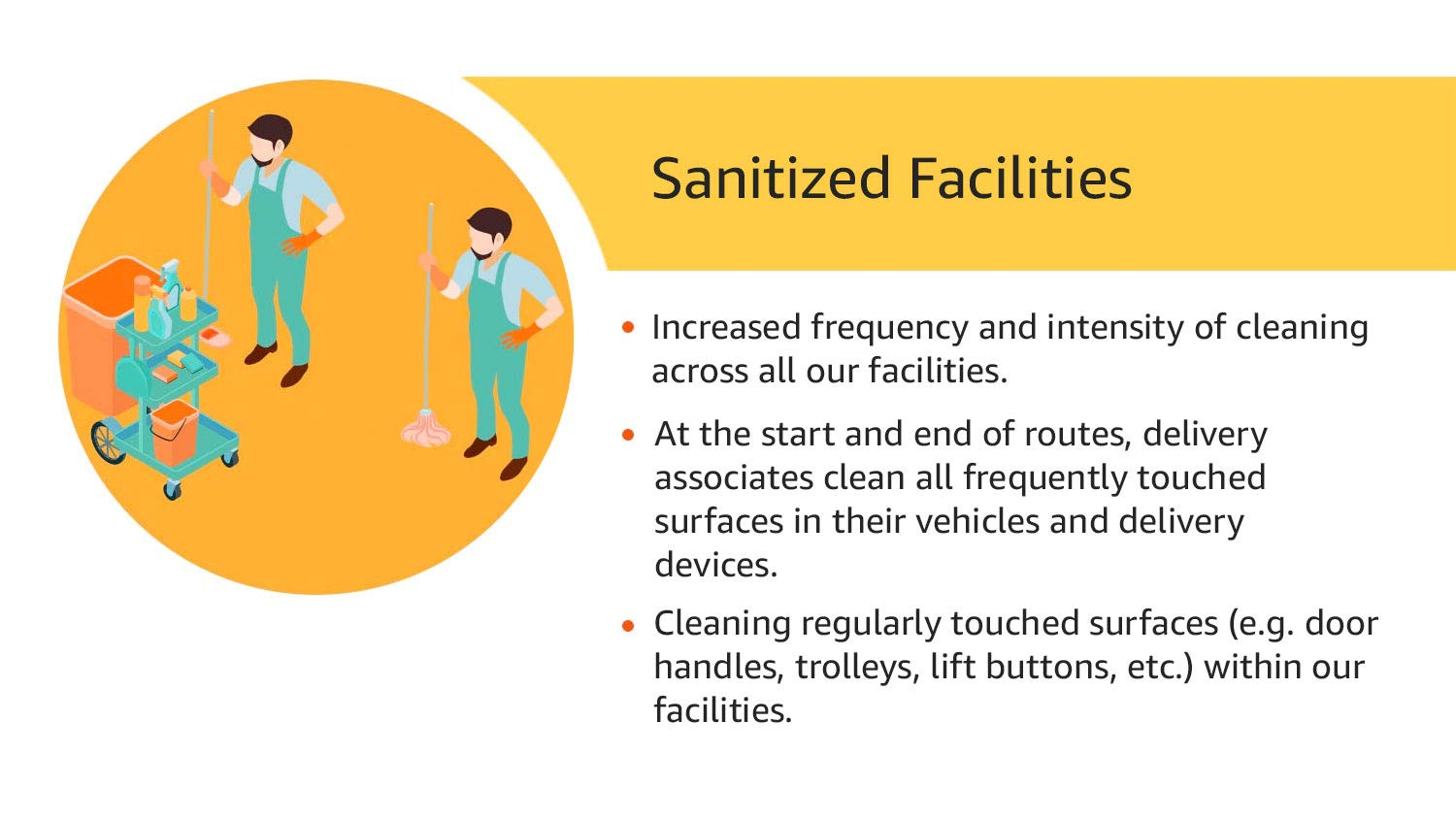 Sanitized Facilities