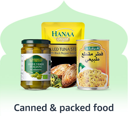 Canned & Packed Foods