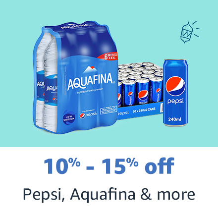 Pepsi , Aquafina & more