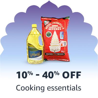 Cooking essentials'