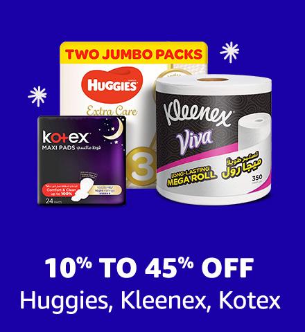Huggies, Kleenex, Kotex