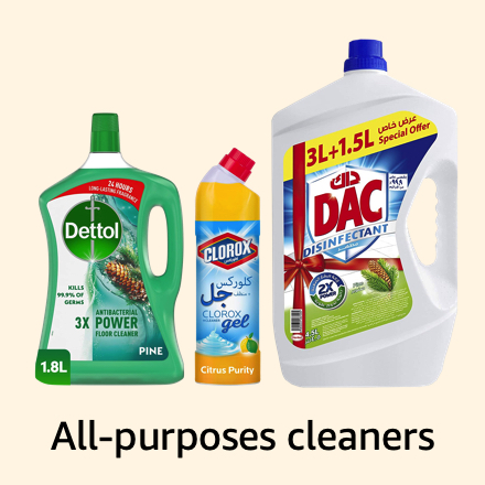 All-purposes cleaners