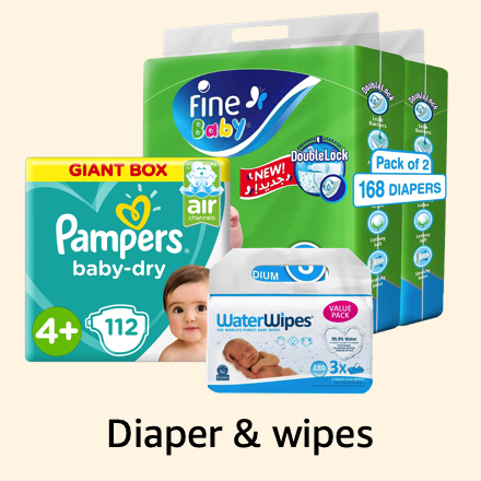 Diaper & wipes