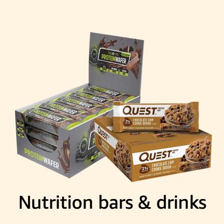 Nutrition bars & drinks