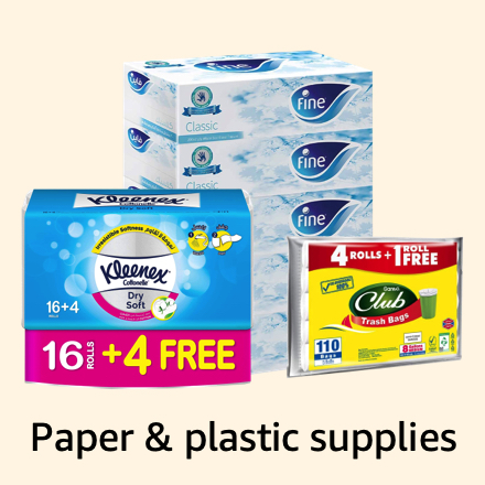 Paper and plastic supplies