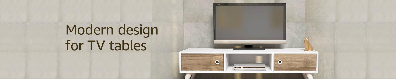 Modern design for TV tables
