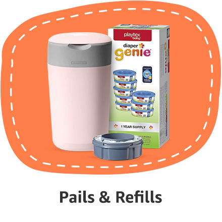 diapers pails refills