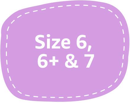 diaper size 6 6+ 7