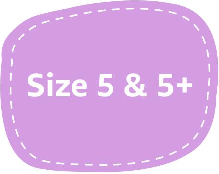 diaper size 5 5+