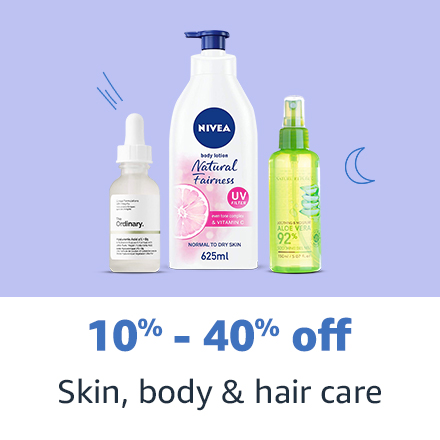 Skin, body & hair care