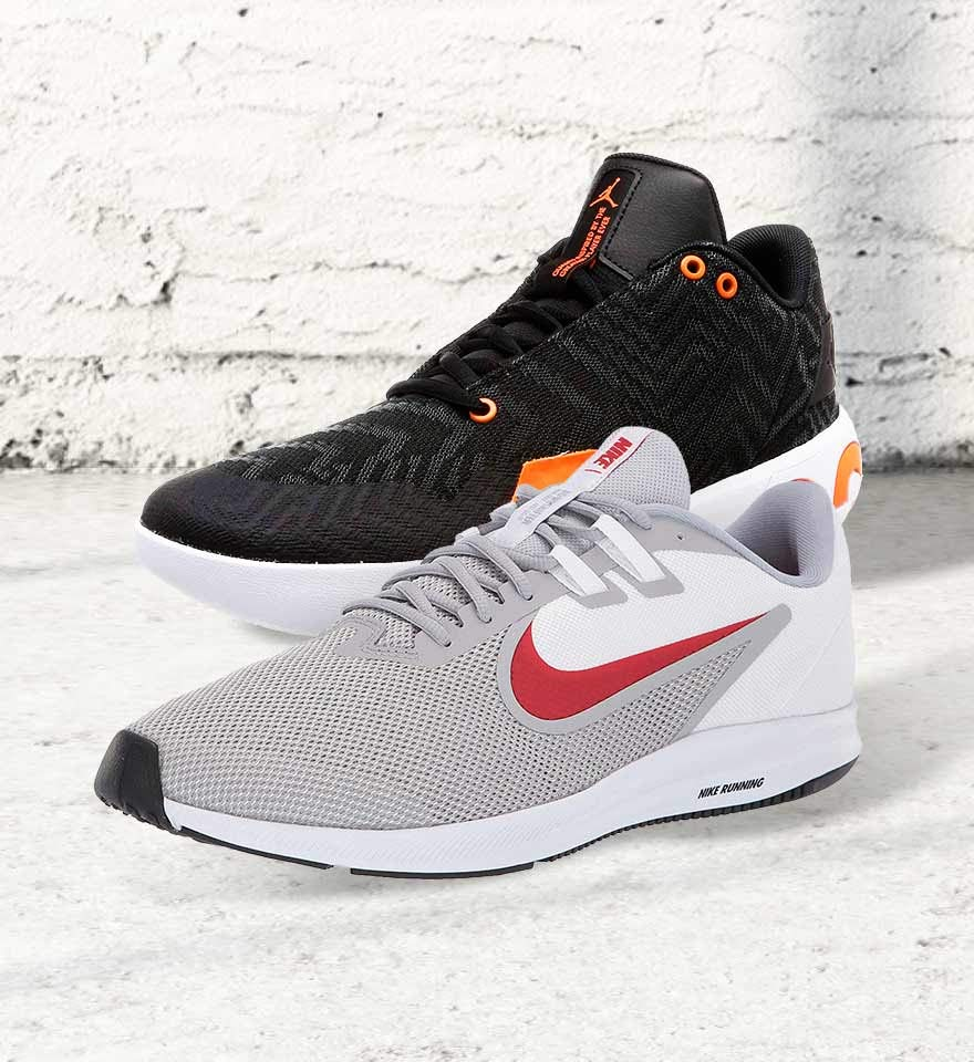 Sports shoes & slides