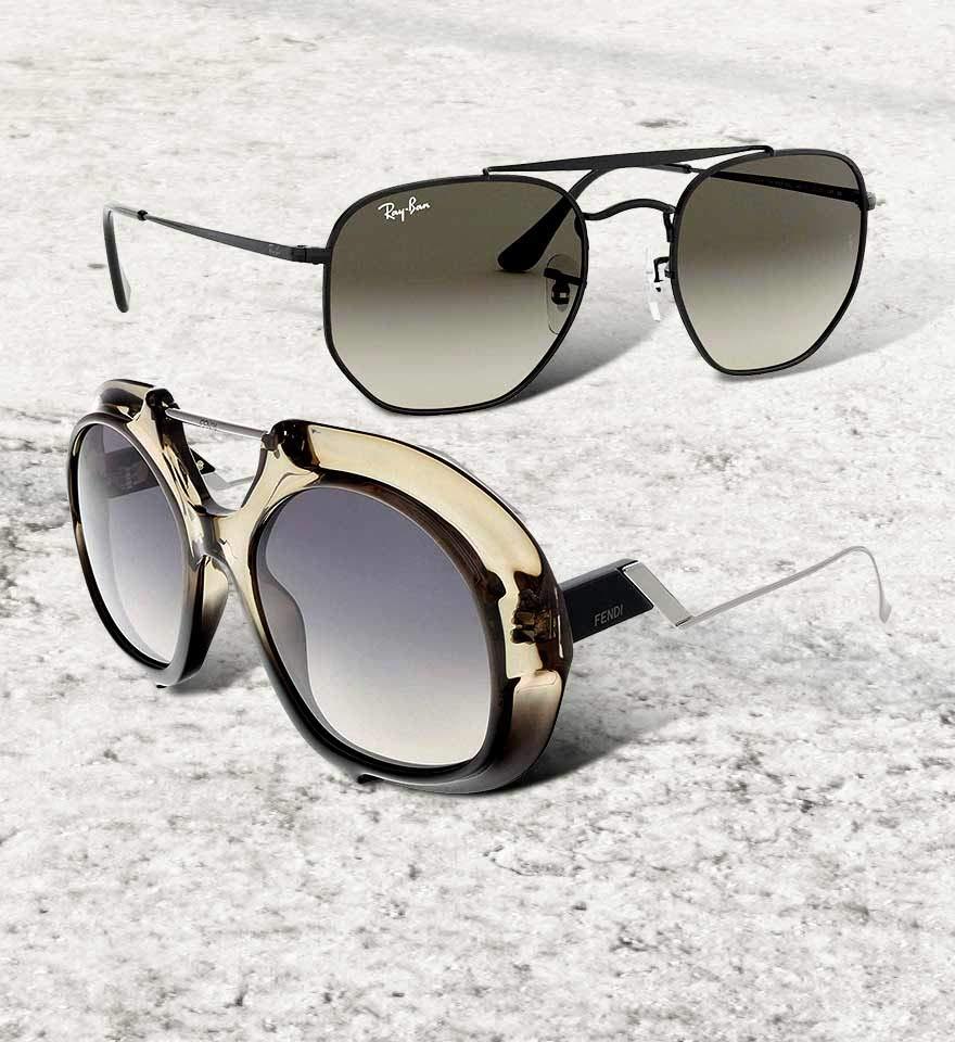 النظارات