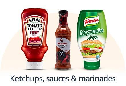 Ketchups, Sauces & Marinades